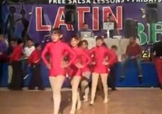 Latin Beat Dance Performance